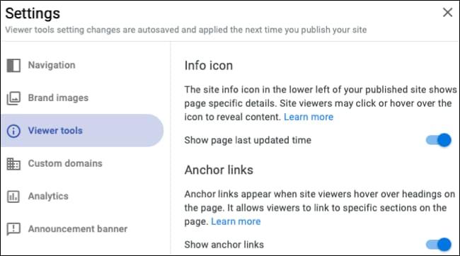 Cách sử dụng Google Sites 55