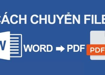 Hướng dẫn chuyển file Word thành file PDF cho giáo viên 2