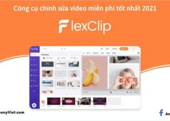 FlexClip: Trang web chỉnh sửa video tốt nhất 2021 2