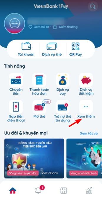 Cách nhận 100k miễn phí từ Vietinbank 76