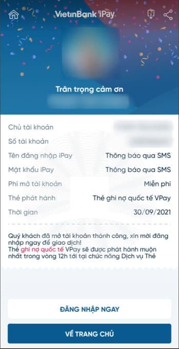 Cách nhận 100k miễn phí từ Vietinbank 73