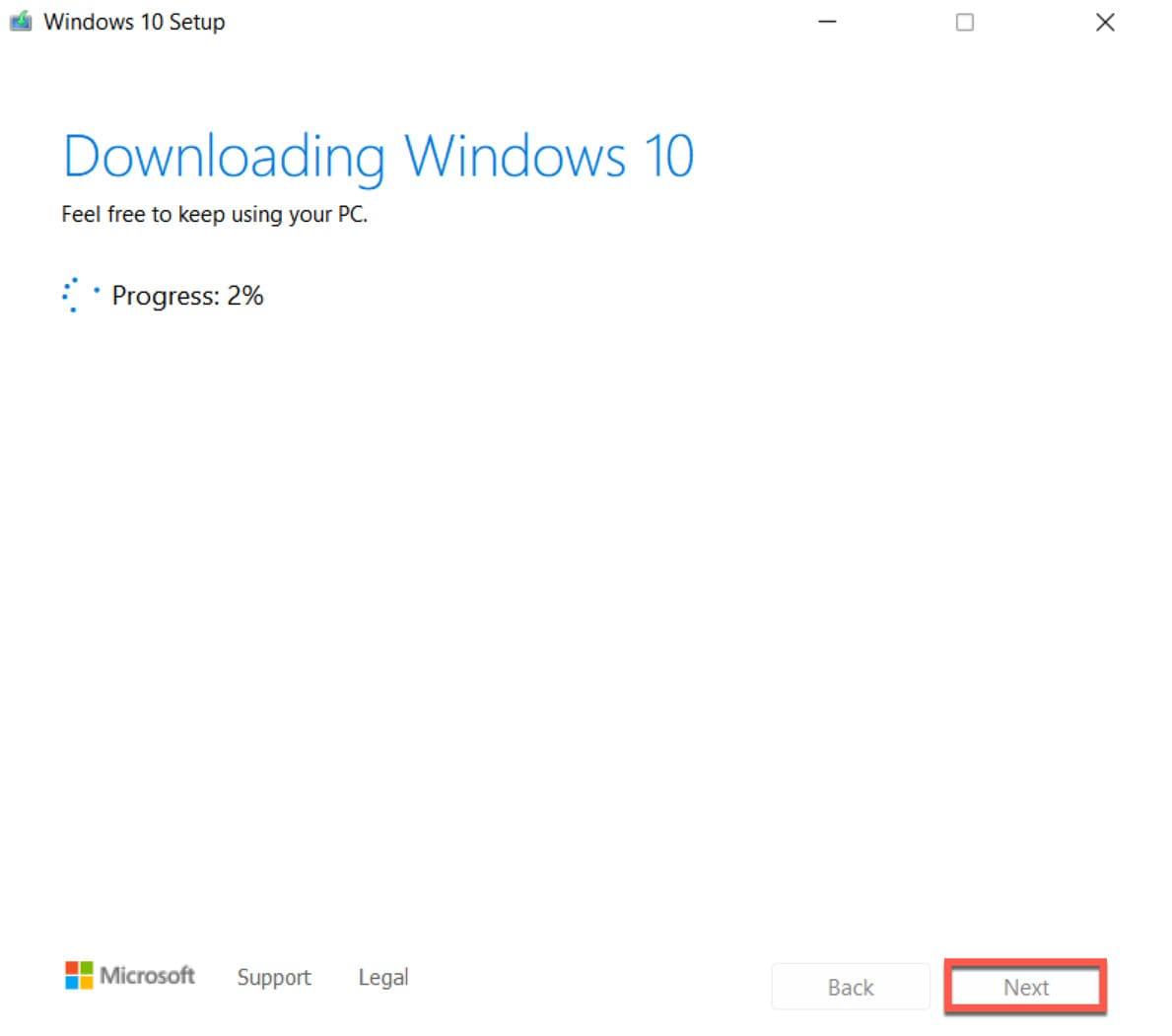 Cách hạ cấp Windows 11 xuống Windows 10 12