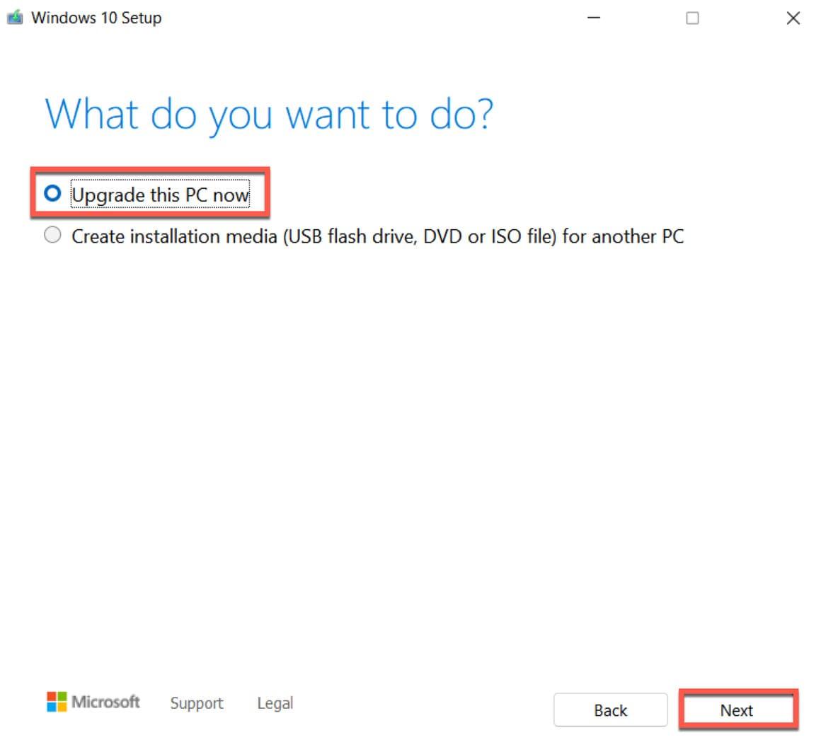 Cách hạ cấp Windows 11 xuống Windows 10 11